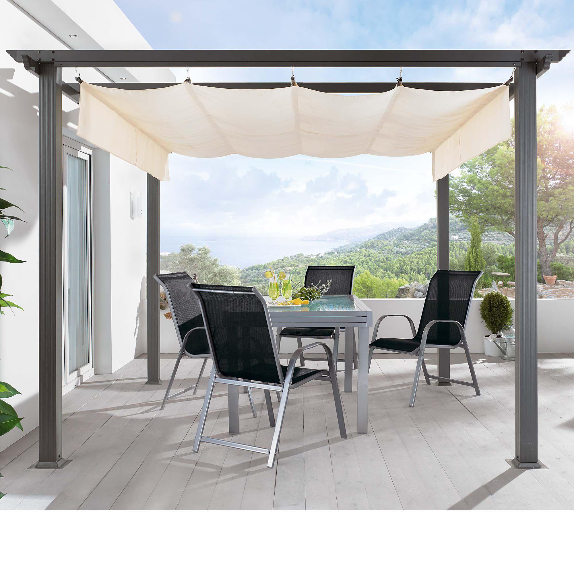 Dach Für Pergola design pergola alu pulverbeschichtetes aluminium dach 100 polyester