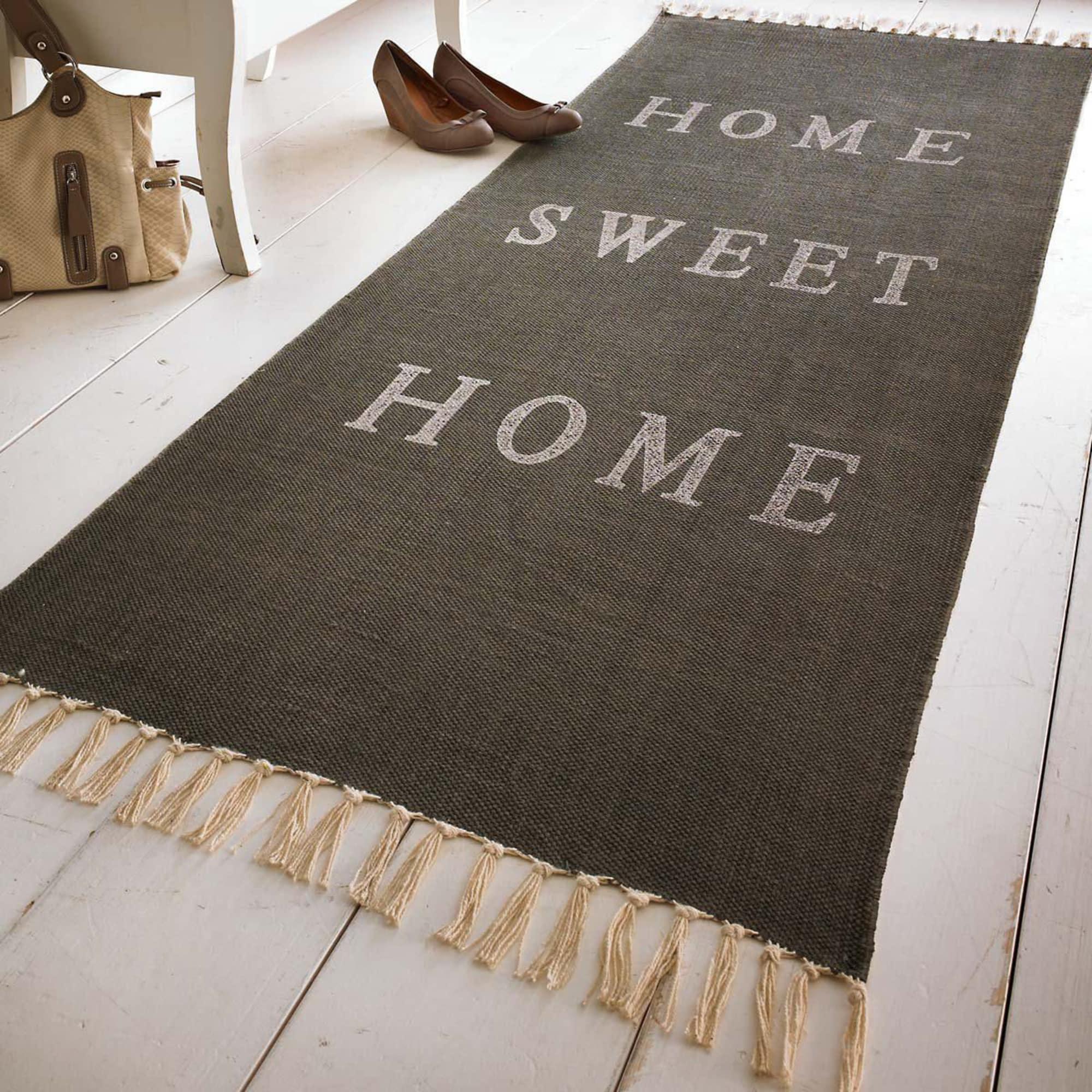 Läufer Home sweet home, Baumwolle
