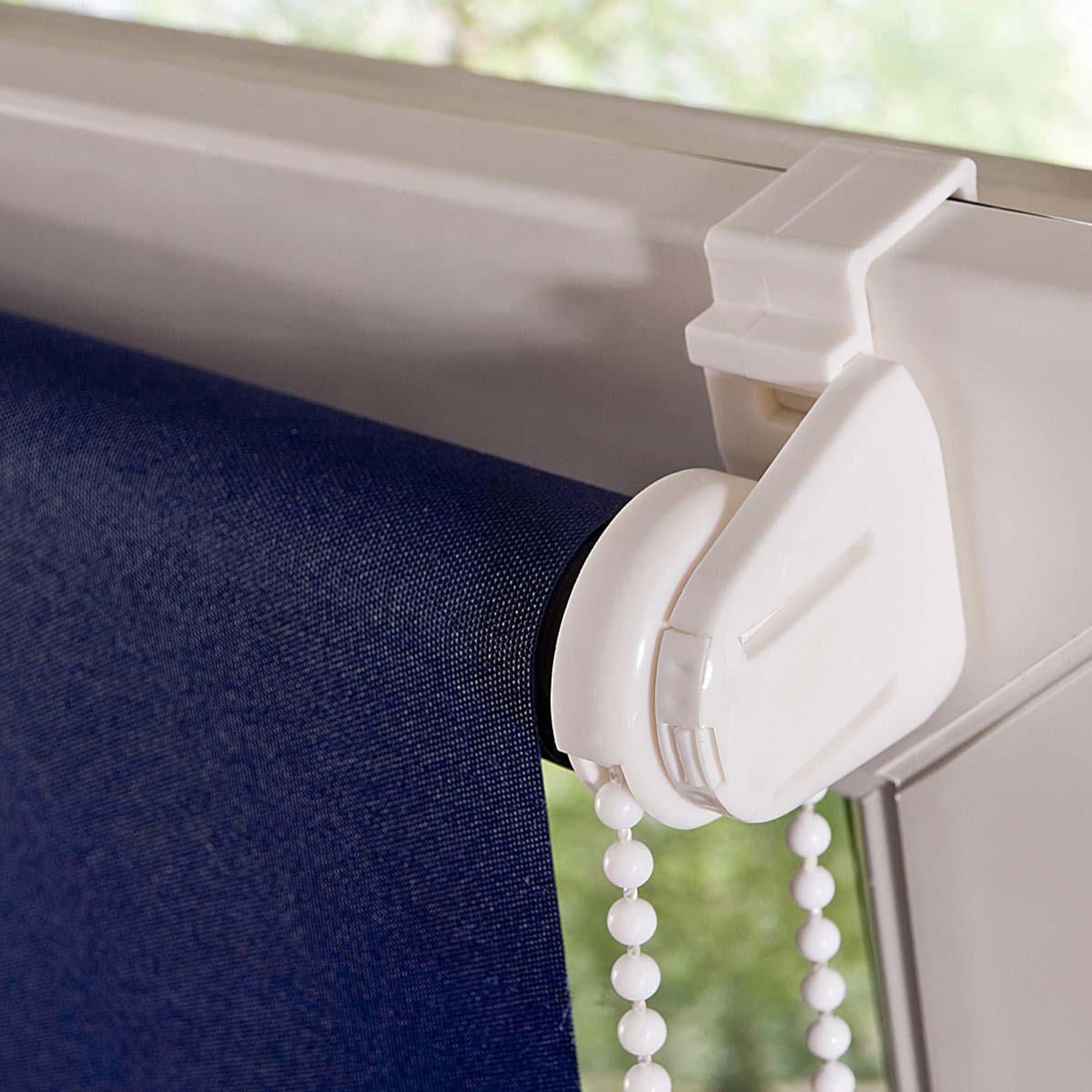 Klemmfix-Rollo Lichtdurchlässig, einfache Montage ohne Bohren, Polyester