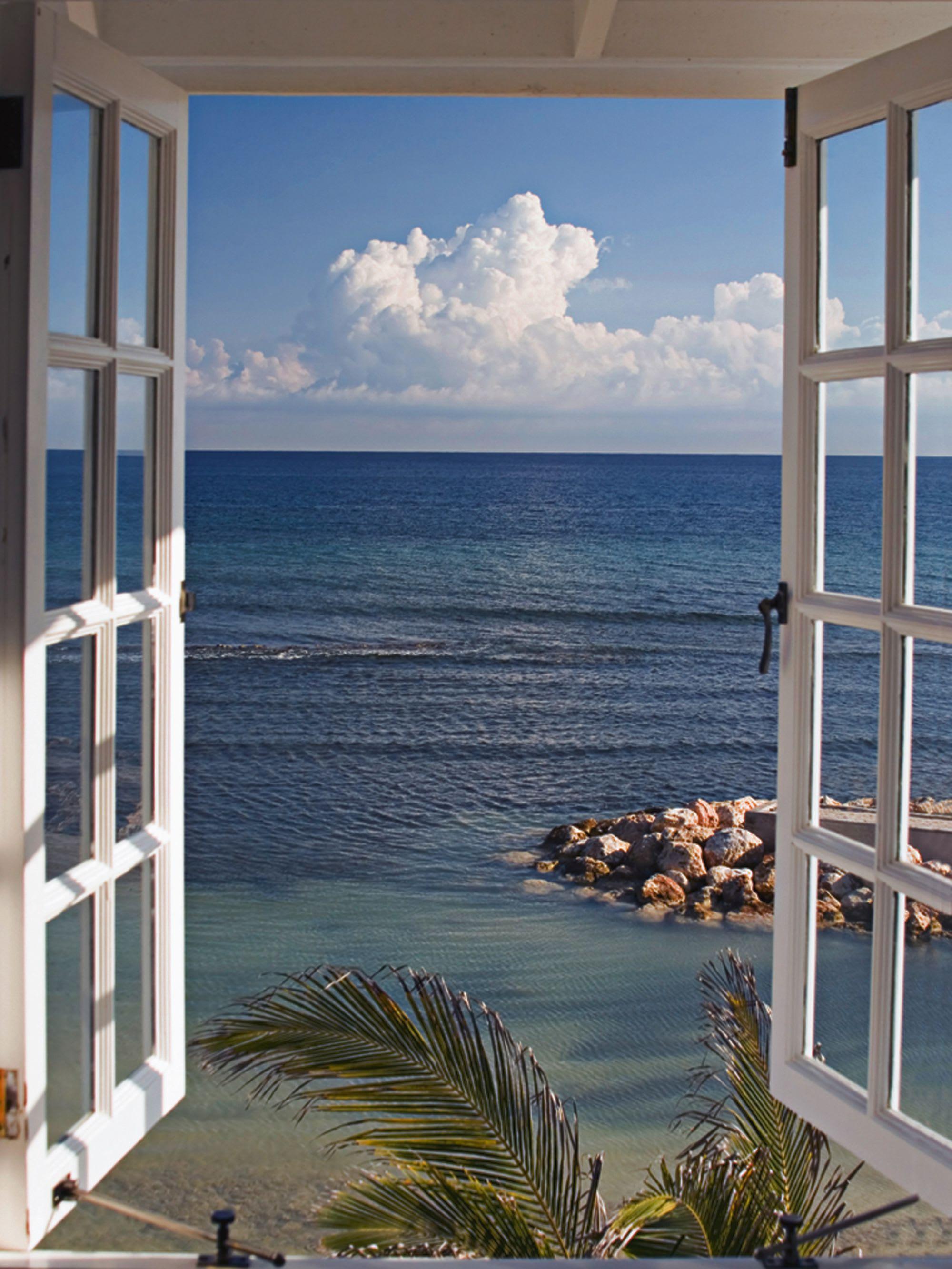 Bild Fenster zum Paradies