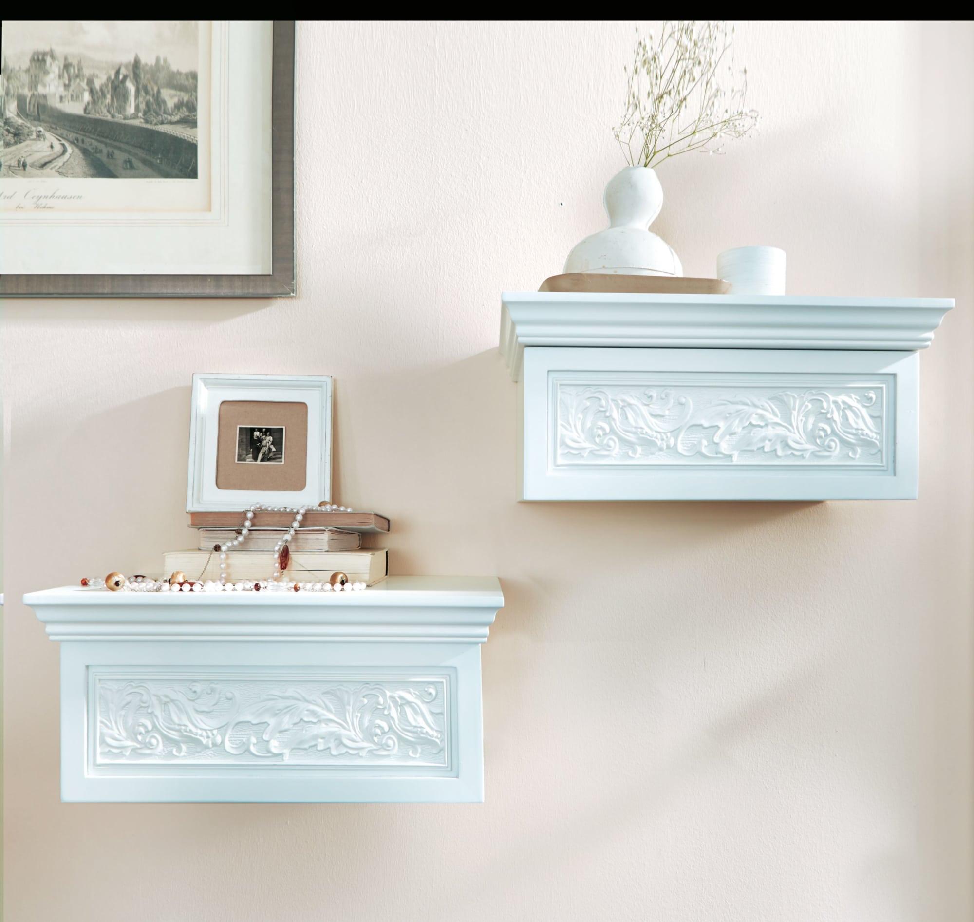Wandkonsole Rosali Inklusive Schublade Mit Auszugstopper Holz