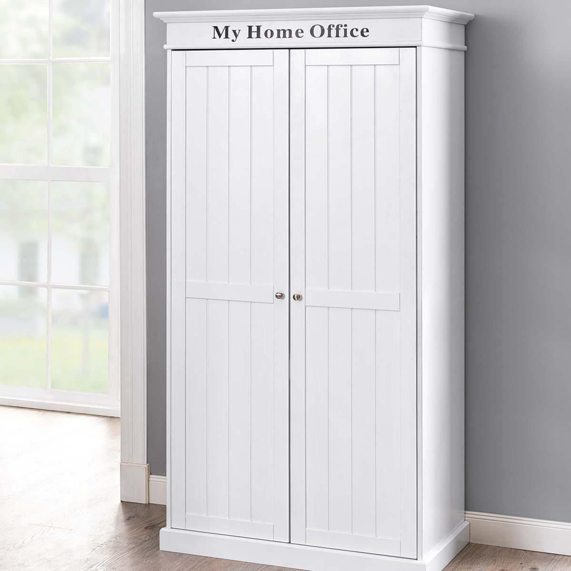 Schrank My Home Office, ausziehbare Arbeitsfläche