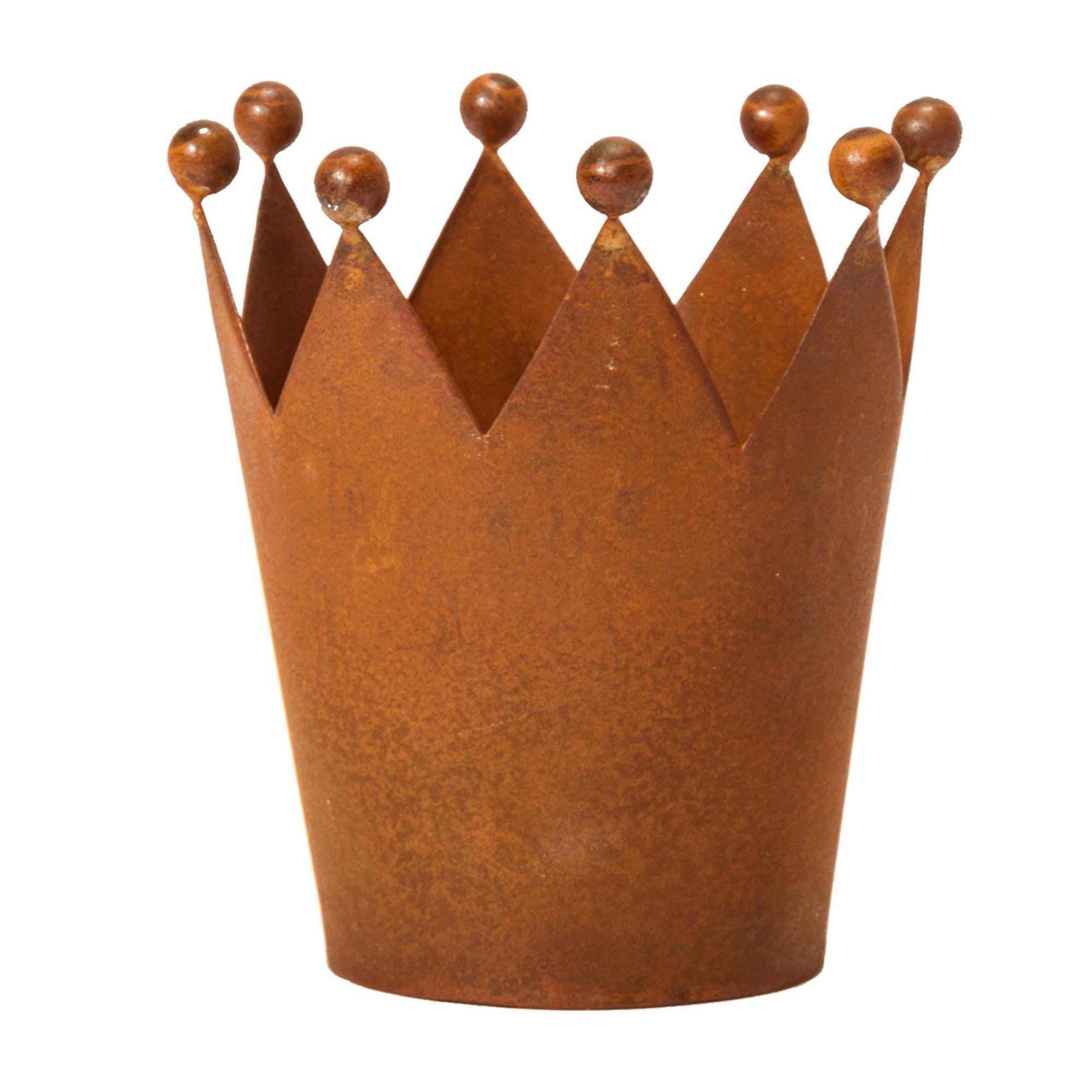 Dekofigur Rost-Krone