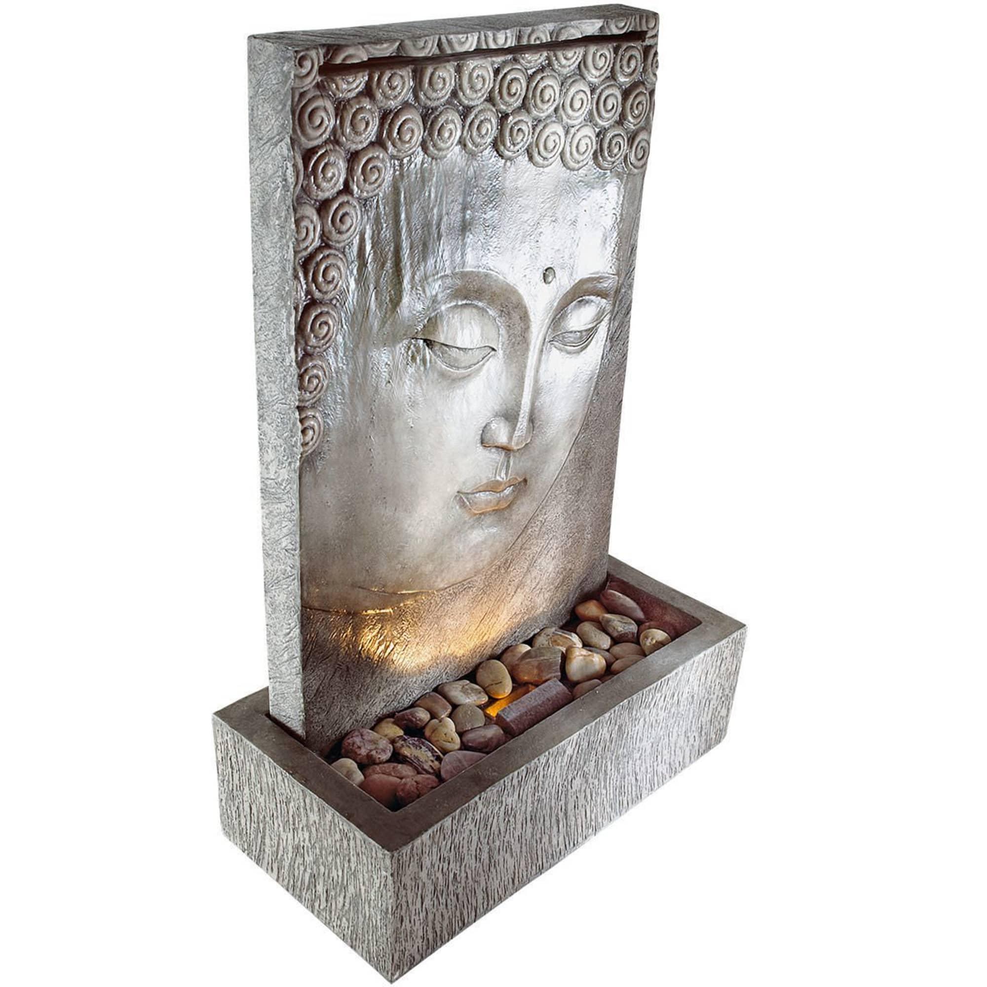 Brunnen Buddha Zen Outdoor Geeignet Polyresin