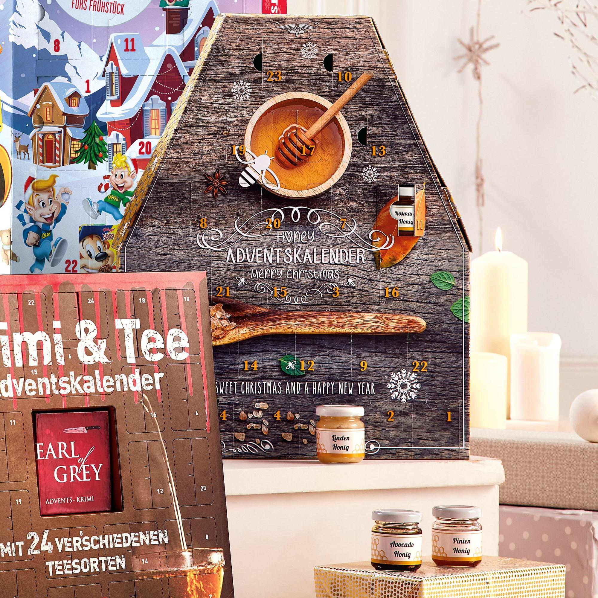 Krimi Weihnachtskalender.Adventskalender Honig 24 Gläschen Mit Je 50ml Inhalt