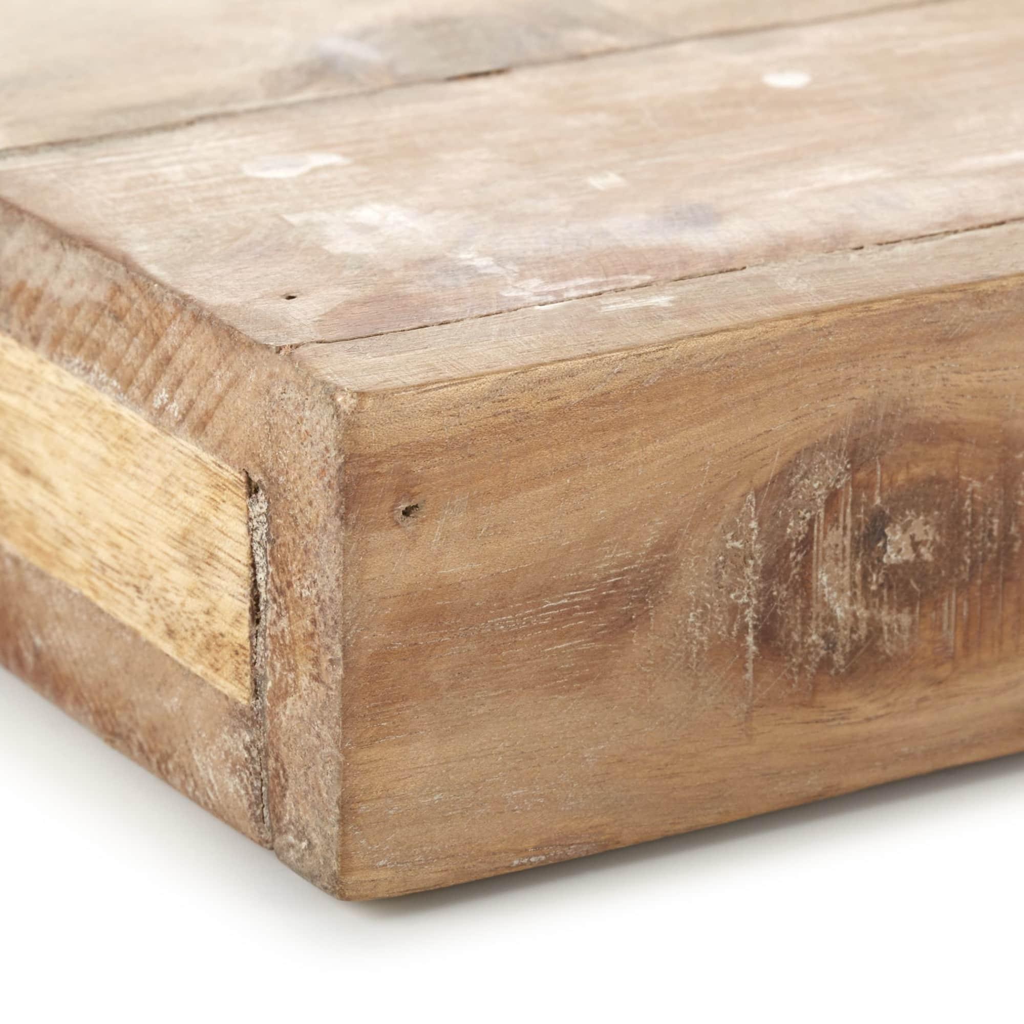 Wandregal Nola Used Look Reyceltes Holz Metall