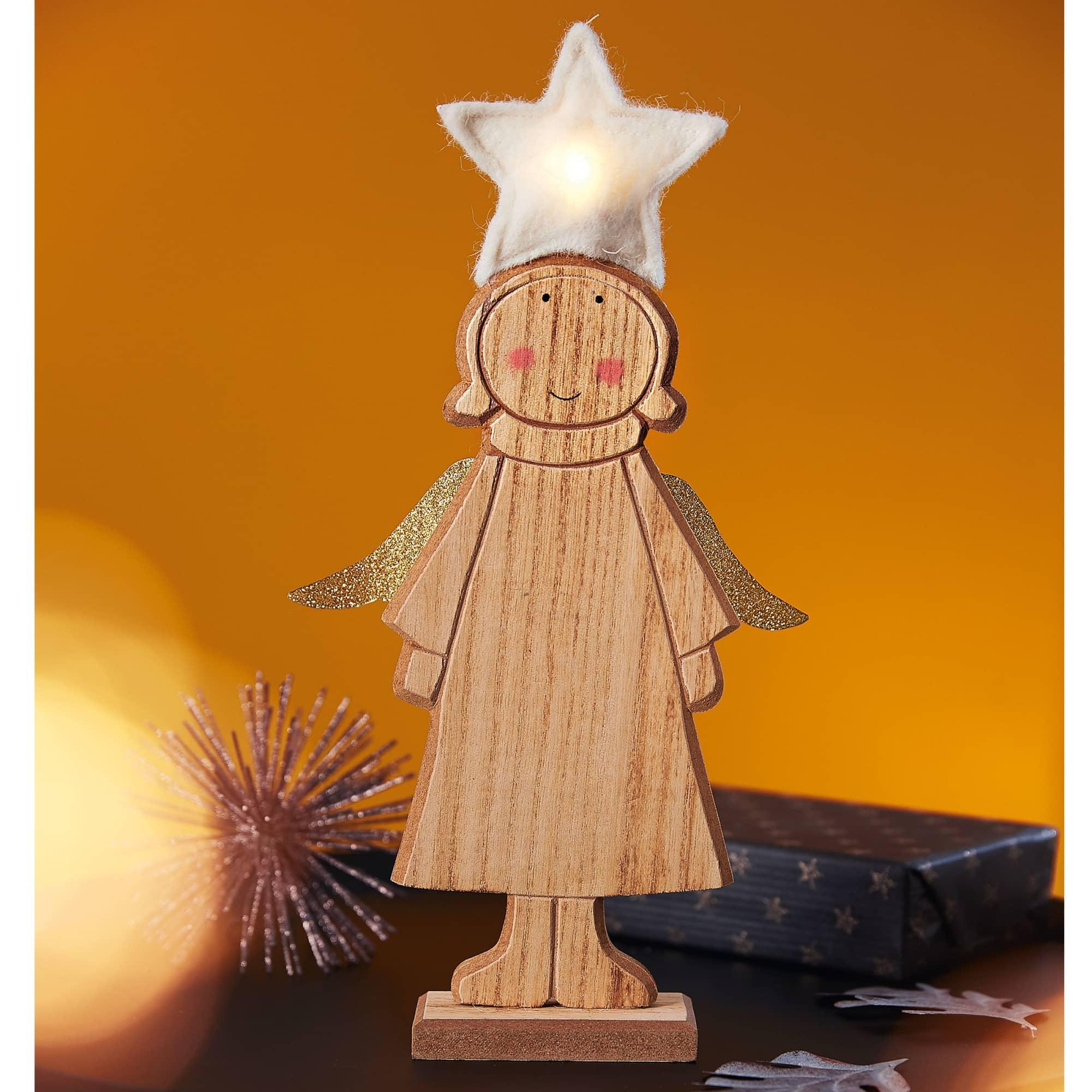 LED Deko-Figur Engel Shiny Star Impressionen