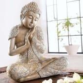 Dekofigur Buddha Relax, Kunststein Katalogbild