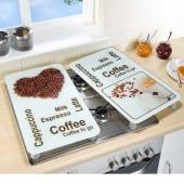Herdabdeckplatten-Set  Kaffeegenuss, 2-tlg. Katalogbild