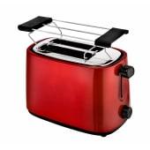 Toaster, Brötchenaufsatz, Stopp-Taste, Toastlift Vorderansicht