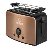 Toaster, Kabeldepot, Stopp-Funktion Vorderansicht