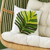 Kissenhülle Green Leaf, Blatt Katalogbild