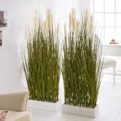 Kunstpflanze Raumtrenner-Gras, Raumteiler, Kunststoff, Höhe ca. 153 cm Katalogbild