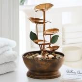 Tischbrunnen Leaves Katalogbild