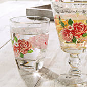 Wasserglas-Set, 6-tlg. Romantic, Glas, ca. Ø 8 x H10 cm Katalogbild