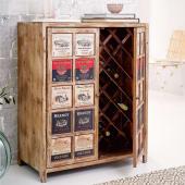 Weinschrank George, Platz für 17 Flaschen (0,75l) , Used-Look Katalogbild