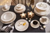 Tafelservice, 12-tlg. Vialla, Premium Porzellan Katalogbild