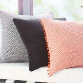 Kissenhülle Ida, mit Reißverschluss, Polyester, Baumwolle Katalogbild