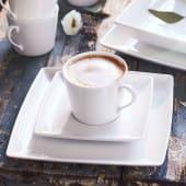 Kaffeeservice, 18-tlg. Purismo, mikrowellen- und spülmaschinengeeignet, Porzellan Katalogbild