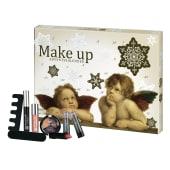 Make-Up Adventskalender Engel, 24 Schminkartikel Vorderansicht