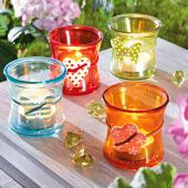 Teelichthalter-Set, 4-tlg. Kunterbunt Katalogbild