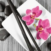 """Bild """" Asian Composition I"""" Vorderansicht"""
