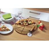 Pizzabrett mit Pizzaschneider Katalogbild