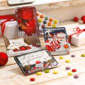Mini-Adventskalender, 24 Schokoladenlinsen, B11xT0,7xH8cm Katalogbild