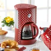 Kaffeemaschine Pünktchen TKG CM1008RWD, Tropfstop Katalogbild