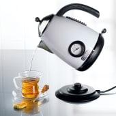 Wasserkocher im Retro-Design mit Temperaturanzeige Katalogbild
