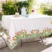 Tischdecke Wiesenblume, bedruckt, Baumwolle Katalogbild
