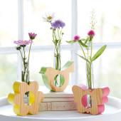 Dekoobjekt Vase Schmetterling Katalogbild