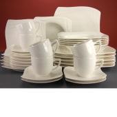 Geschirr-Set, 30-tlg. Firenze, spülmaschinengeeignet, Premium-Porzellan Katalogbild