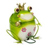 Mülleimer Froschkönig Vorderansicht