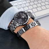 Uhren-Schmuck-Set, 2-tlg. Katalogbild
