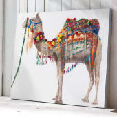 Bild Camel, mit Applikationen, ca. 100 x 80 cm Katalogbild