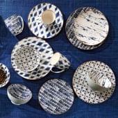 Geschirr-Set, 16tlg. Batik Katalogbild