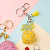 Schlüsselanhänger Ananas Katalogbild