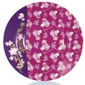 Tafelservice Flower, 12-tlg., Porzellan Vorderansicht
