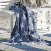 Wohndecke White Stars, Baumwolle Katalogbild