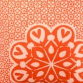 Kissen Nova, 85 % Baumwolle  / 8 % Viskose / Polyacryl, 50 x 50 cm Detailansicht