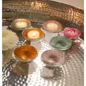 Schwimm-Teelichthalter-Set, 3-tlg. Shine, Glas Katalogbild