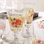Sektglas-Set, 6-tlg. Romantic, Glas, ca. Ø 6,5 x H17 cm Katalogbild