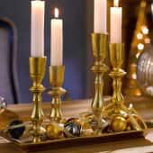 """Kerzentablett-Set """"Golden Candle"""", 2-tlg. Katalogbild"""