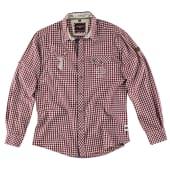 Herrenhemd Daniel, Kentkragen, Krempelärmel, Brusttasche, gerade geschnitten, Baumwolle Vorderansicht