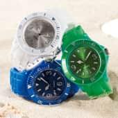 Armbanduhr, Silikonarmband, Kunststoffgehäuse Katalogbild