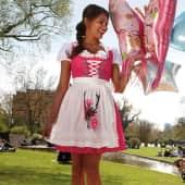 Dirndlbluse Luna, Carmen-Stil, mit Gummizug Katalogbild