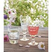 Rotweinglas-Set, 6-tlg. Letters, spülmaschinengeeignet, Glas Katalogbild