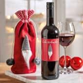 Flaschenbeutel mit  Rotwein Wichtel, 0,75l Vin de Pays de L´Herault Katalogbild