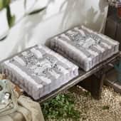 Sitzkissen Grand Hotel, klassisches Design, 100% Baumwolle, ca. L40 x B40 x H8 cm Katalogbild